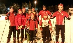 OIF:are på plats vid kretstävlingen i Älvdalen 150113